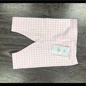 NWT Ralph Lauren baby girl pink plaid legging pant